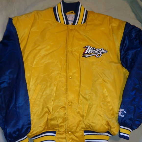 STARTER Other - Starter 1998 MLB World Series Jacket Large Men